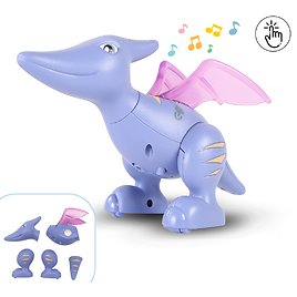 Save 35% On Touch for Recording Talking Magnetic Build Dinosaur Toy w/ Sounds Light
