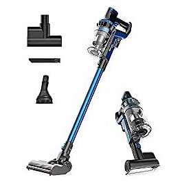 Amazon.com - Proscenic P10 Cordless Vacuum Cleaner, 22000Pa Powerful, LED Touch Screen, 4 Adjustable Suction Modes, Removable Battery, 4-in-1 Handheld for Carpet Hard Floor Car Pet Hair, Blue -