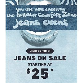 Jeans On Sale Starting At $25 | Hollister Co.