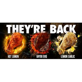 """They're Back! Wingstop's """"Remix"""" Flavors (2/14)"""
