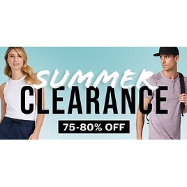 75-80% Off Summer Clearance Sale - 32 Degrees