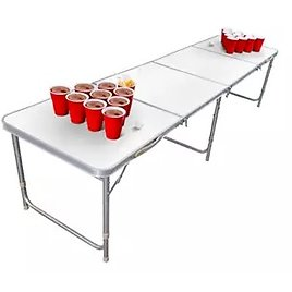 Game Foldable Cup Pong Table Dry Erase