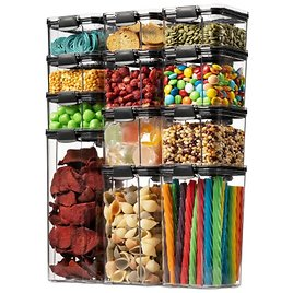 12 Pack Airtight Food Storage Container Set