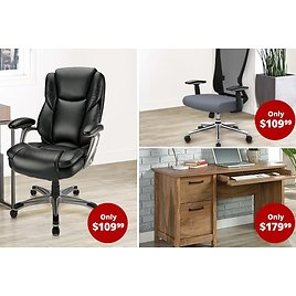 Save Over 40% Off Furniture & Seating Sale
