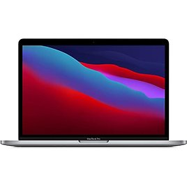2020 Apple MacBook Pro with Apple M1 Chip (13-inch, 8GB RAM, 512GB SSD Storage) - Space Gray / Silver