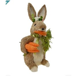 """14"""" Bunny with Carrot By Ashland®"""