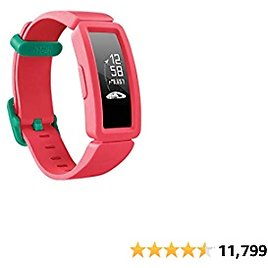 Fitbit Ace 2 Activity Tracker for Kids (Pink, Blue, Purple)