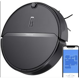 Roborock E4 Robot Vacuum Cleaner with 2000Pa Strong Suction, 200min Runtime, APP Total Control