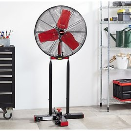 Hyper Tough Foldable Stand Fan, 24-Inches