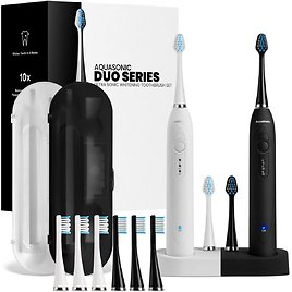 Up to 37% Off Aquasonic Electric Toothbrushes   Amazon