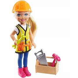 Barbie Chelsea Can Be Builder Doll Playset