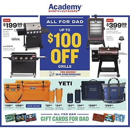 Academy Weekly Ad & More!