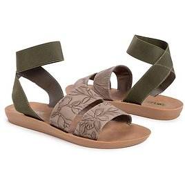 Taupe About It Sandal - Women