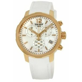 Tissot Quickster White Mother of Pearl Women's Watch - T0954173711700 for Sale Online