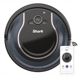 40% OFF Shark ION R76 Wi-Fi-Connected Robot® Vacuum in Navy/Black | Bed Bath & Beyond