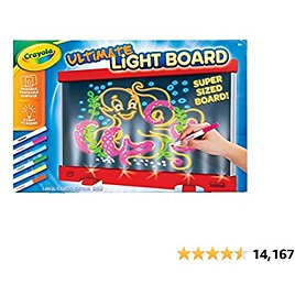 Crayola Ultimate Light Board Red, Easter Gift for Kids, Amazon Exclusive