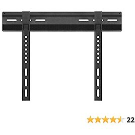 """Cmple – Extremely Slim Velcro Fixed TV Wall Mount for 23""""-42"""" LED Plasma LCD Flat Screen TVs, Fixed TV Mount for 23 Inch - 42 Inch TVs, Monitors, Up to 99lbs Max VESA 400x200"""