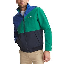 Tommy Hilfiger Tate Colorblocked Yacht Jacket W/Zip-Out Hood