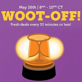 Woot-Off Today Only! (Until 10pm CT)
