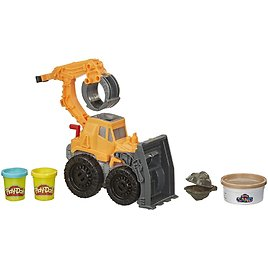 Play-Doh Wheels Front Loader Toy Truck