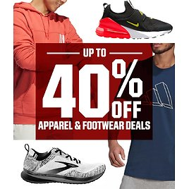 Up To 40% Off Apparel & Footwear Sale | DICK'S Sporting Goods