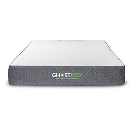 GHOSTBED Classic 11 In. Medium Firm Gel Memory Foam Smooth Top Queen Mattress-11GBED50