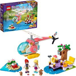 LEGO Friends Vet Clinic Rescue Helicopter 41692 (249 Pieces)