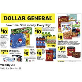 Dollar General Weekly Ad & More!