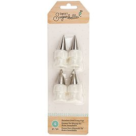 Stainless Steel Icing Tip - Set of Four