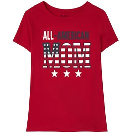 50% OFF American Family Matching Graphic Tee
