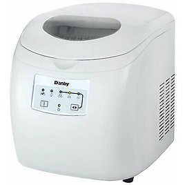 Danby 2 Lb Capacity Electric Self-Cleaning Ice Maker (Certified Refurbished) 67638906500