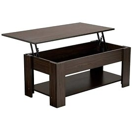 Lift Top Coffee Table W/ Hidden Compartment