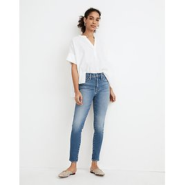 Women's High-Rise Crop Jeans in Sheffield Wash | Madewell