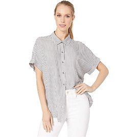 Splendid Striped Canyon Button Up Top