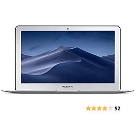 Apple MacBook Air 11.6-Inch Laptop Core I7 2.0GHz (MD845-BTO/CTO), 8GB Memory, 512GB Solid State Drive / MacOS 10.12 Sierra (Refurbished)