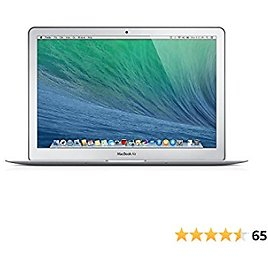 Apple MacBook Air 13in Laptop Intel Dual Core I5 1.4GHz (MD760LL/B) 8GB Memory, 256GB Solid State Drive (Renewed)