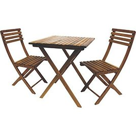 Leigh Country 3-Piece Classic Folding Bistro Set