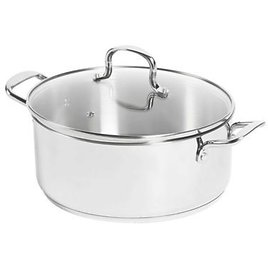 SALT™ 7.5 Qt. Stainless Steel Covered Dutch Oven