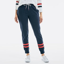 SUSTAINABLY CRAFTED STRIPED SWEATPANT