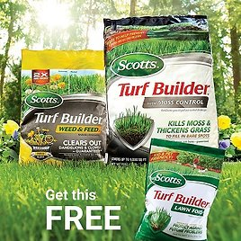 Buy 1, Get 1 Complementary Product Free At Scotts Turf and Lawn Products Sale