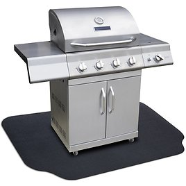 """GrillTex Under-the-Grill Protective Patio & Deck Mat, 36"""" X 63"""""""