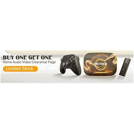 Buy One Get One Home Audio Video & Games Clearance Sale