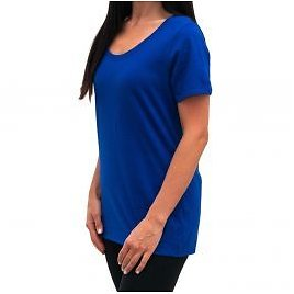 Nike Tee Womens 100% Cotton Scoop Neck T-Shirt – Athletic Cut