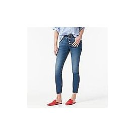 """9"""" High-rise Toothpick Jean in Litchfield Wash"""