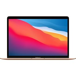 """MacBook Air 13.3"""" Laptop Apple M1 Chip 8GB Memory 256GB SSD (Latest Model) Gold MGND3LL/A"""