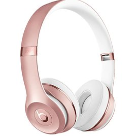 Beats By Dr. Dre Solo³ Wireless On-Ear Headphones Rose Gold MX442LL/A