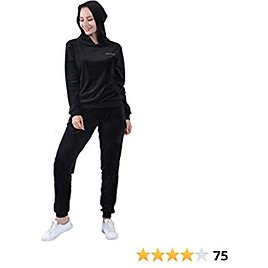 Plusfeel Women's Velour Hoodie and Pants Pullover Tracksuits Sports Sweat Suit Sets, S-3XL