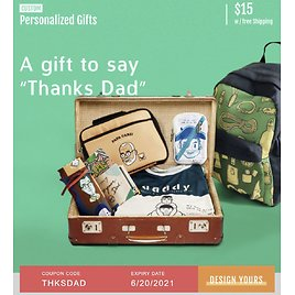 Artscow Personalized Gifts for Dad Only $15 + Free Shipping