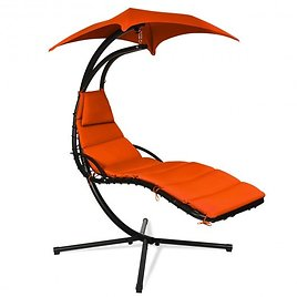 Hanging Stand Chaise Lounger Swing Chair