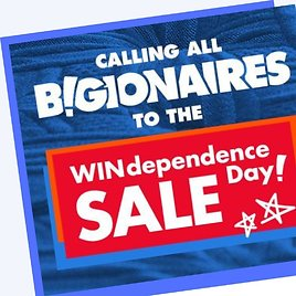 'WINdependence' Day! Sale